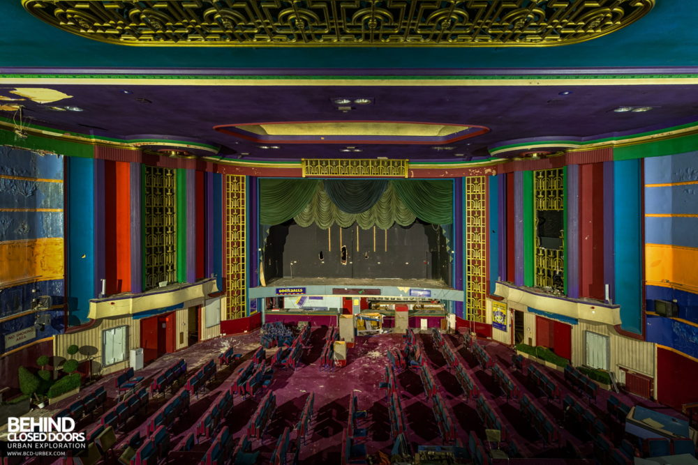 Ritz, Nuneaton - Auditorium viewed from the balcony