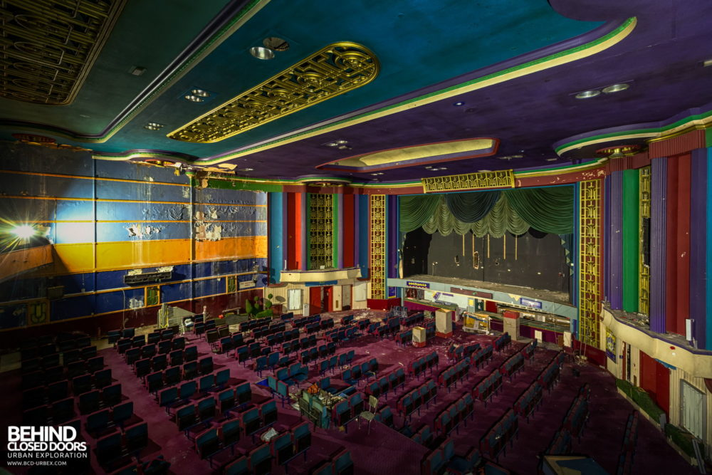 Ritz, Nuneaton - View across the auditorium