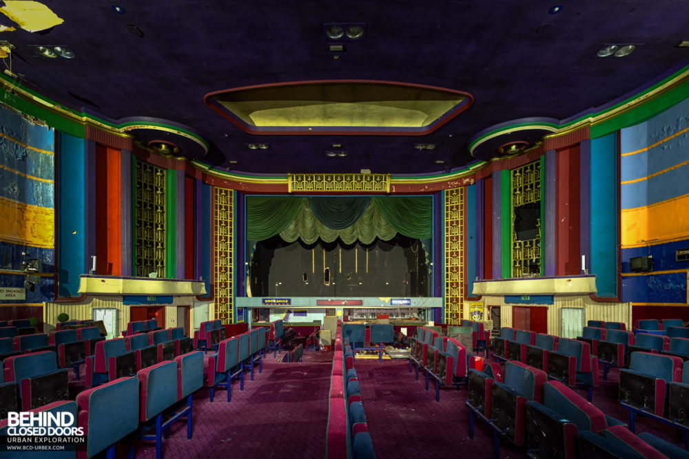 Ritz, Nuneaton - Auditorium viewed from the ground level