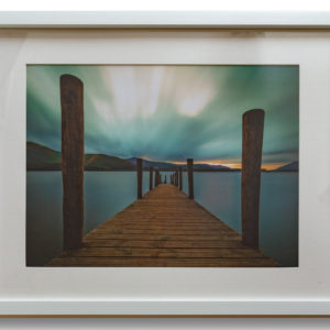 Clamwater Jetty - Large White Frame with Mount