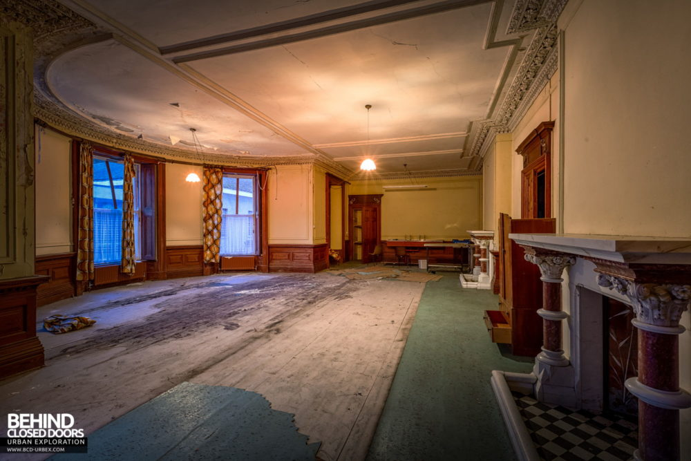 Cahercon House, Ireland - One of the reception rooms