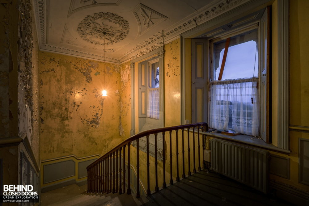 Cahercon House, Ireland - Top of the staircase