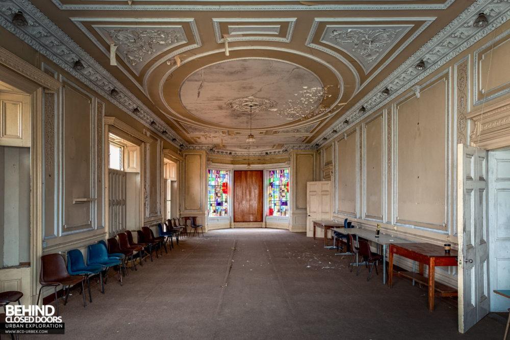 Cahercon House, Ireland - The grand ballroom