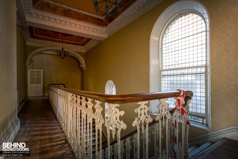 Knockmaroon Lodge, Dublin - Top of the staircase
