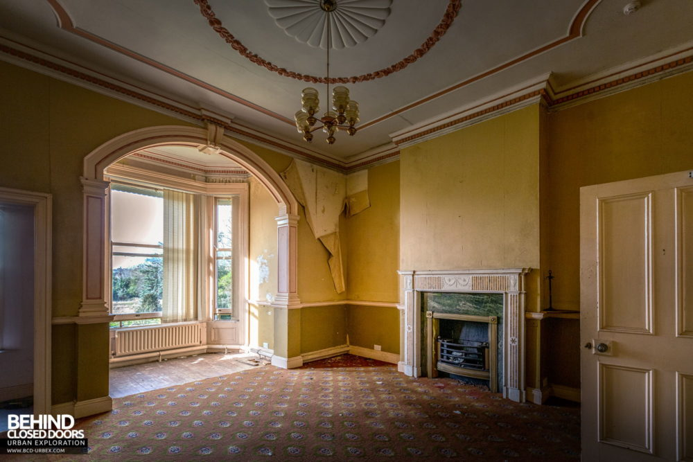 Knockmaroon Lodge, Dublin - One of the reception rooms