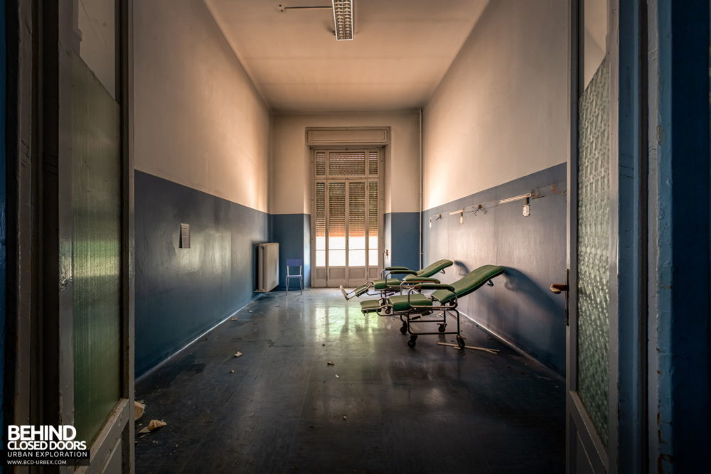 Tuberculosis Sanatorium / Hospital, Italy - One of the hospital rooms