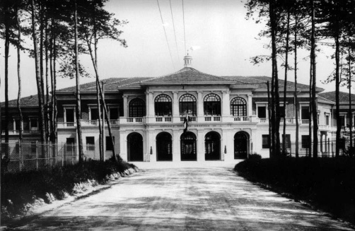 Archive image of the sanatorium