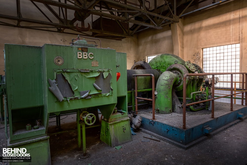 Zeche HR - Pumps and other equipment