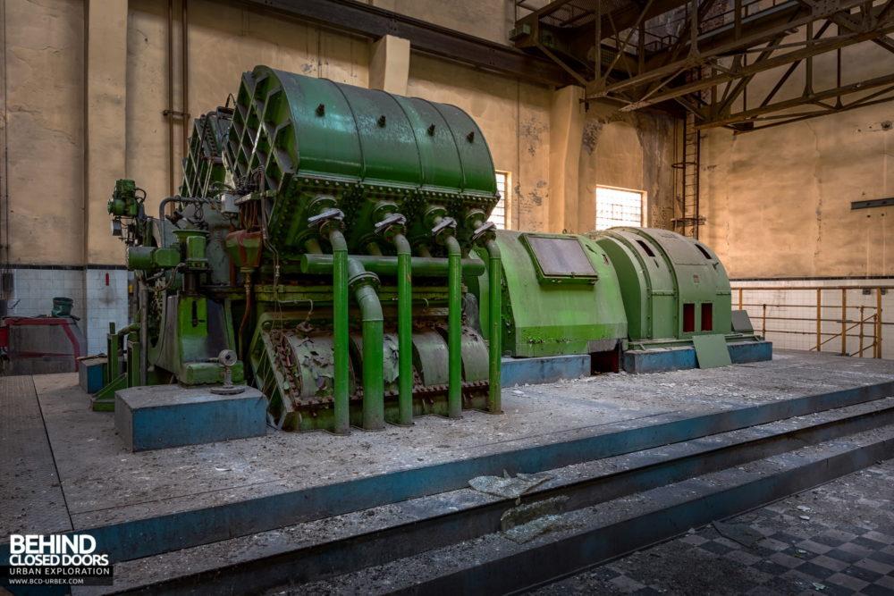 Zeche HR - AEG generating equipment