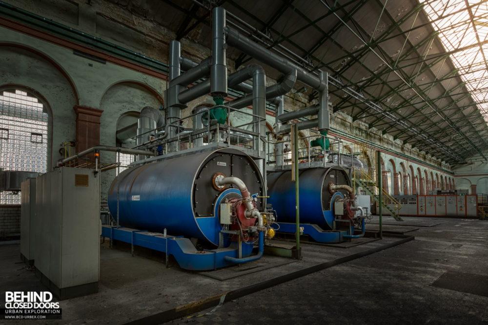 Zeche HR - Modern gas-fired boilers