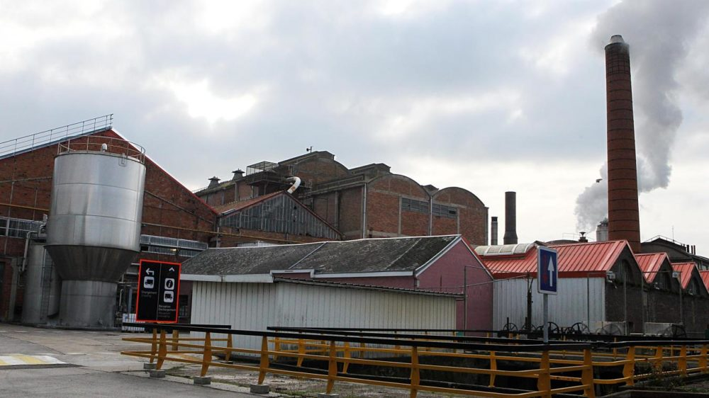 Exterior of the paper mill
