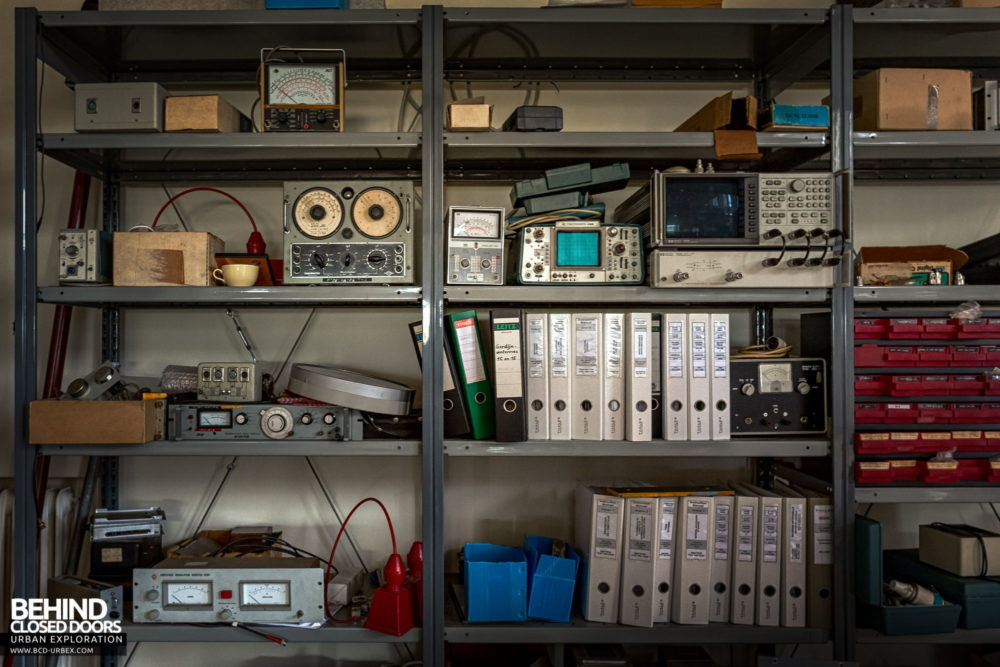 Broadcasting Station - Oscilloscopes and other equipment