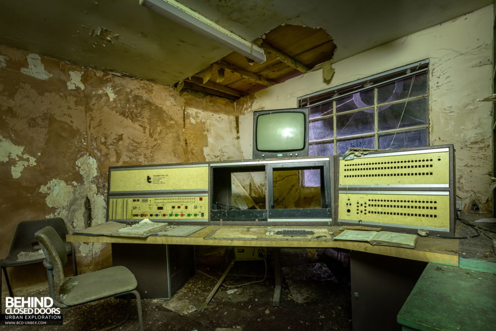 Chatterley Whitfield Underground Experience - In the control room