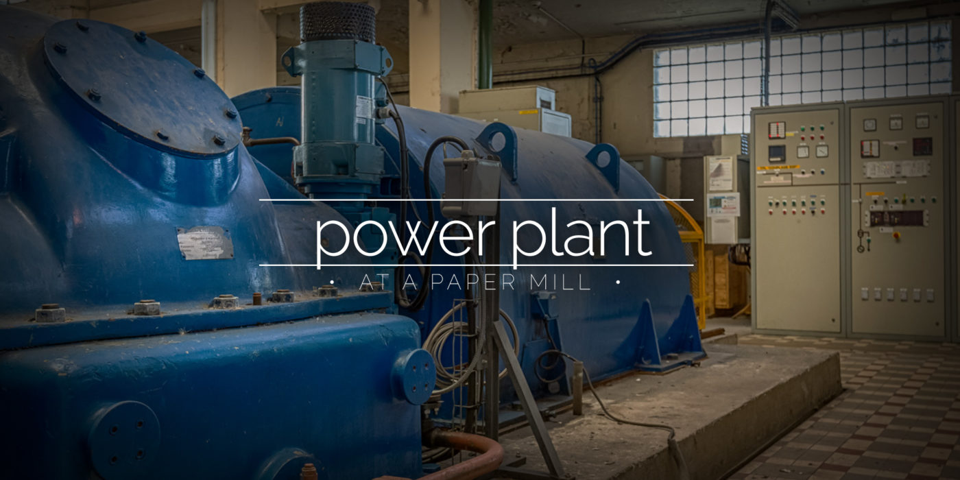 Power Plant at a Paper Mill, France