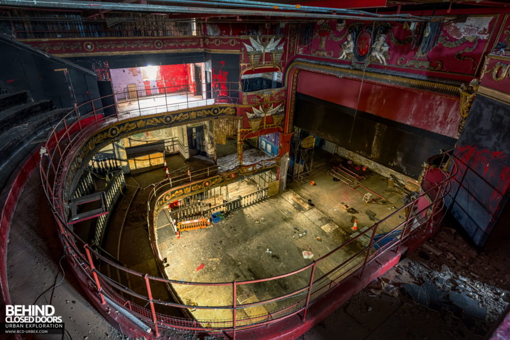 New Palace Theatre, Plymouth - View from the top level of the auditorium