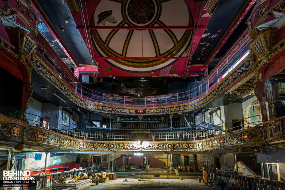 New Palace Theatre, Plymouth - Looking back from the stage