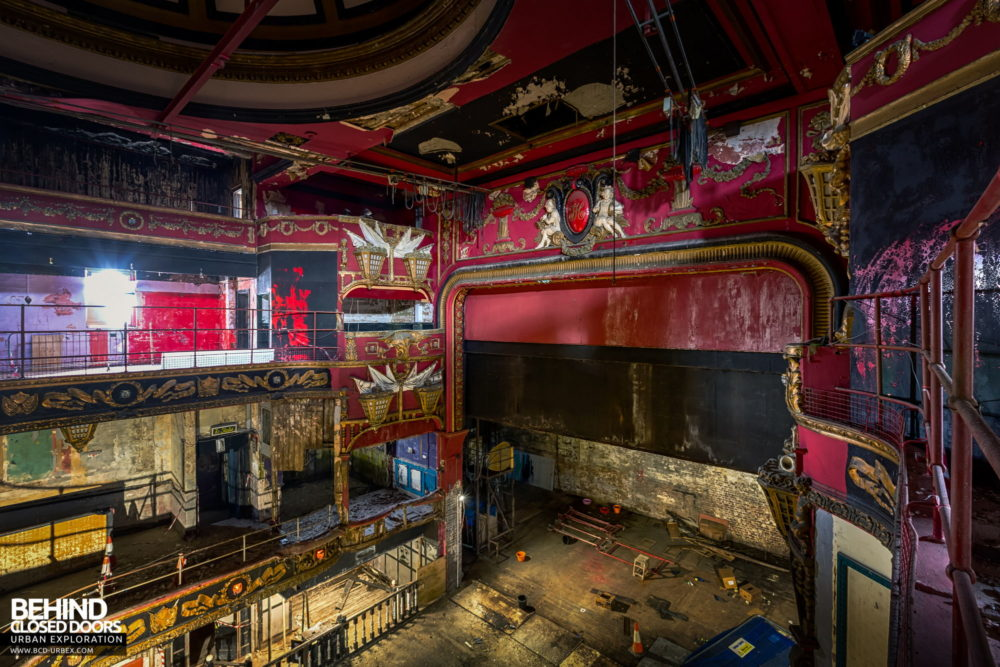 New Palace Theatre, Plymouth - Another view towards the stage