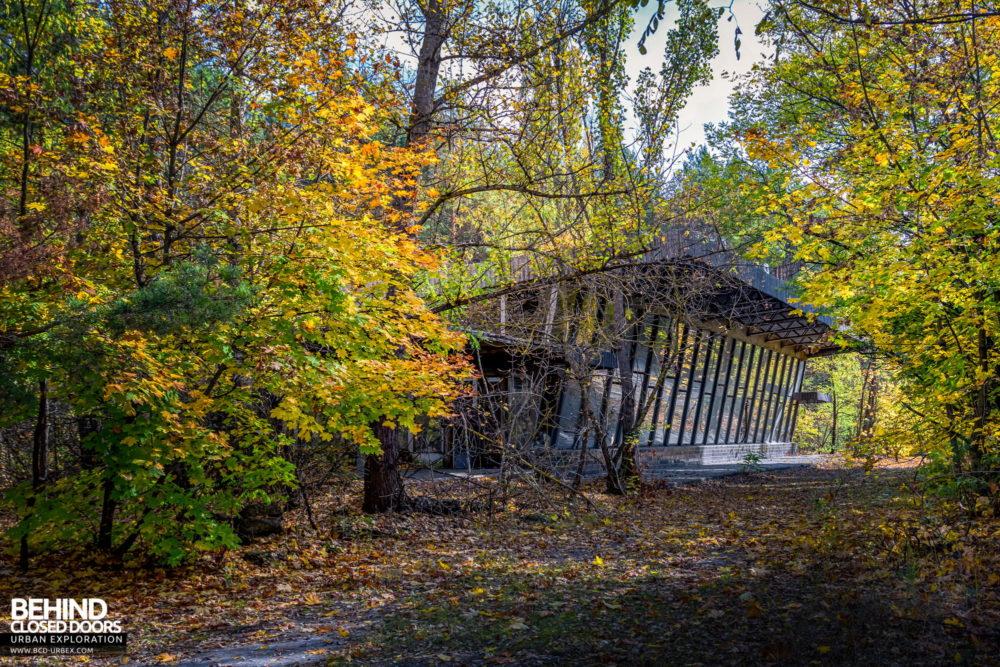Pripyat bus station as it looks now