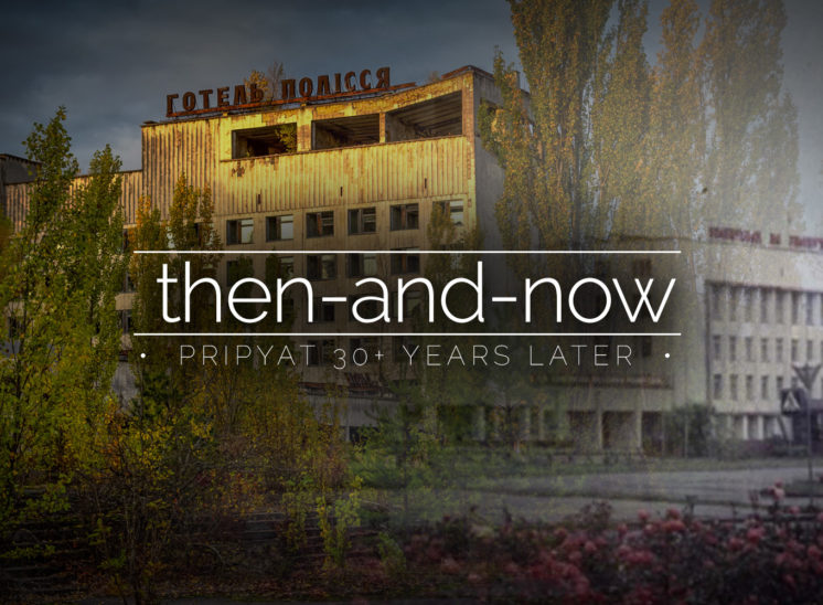 Pripyat - Then and Now - The Abandoned City Before and After the Chernobyl Disaster