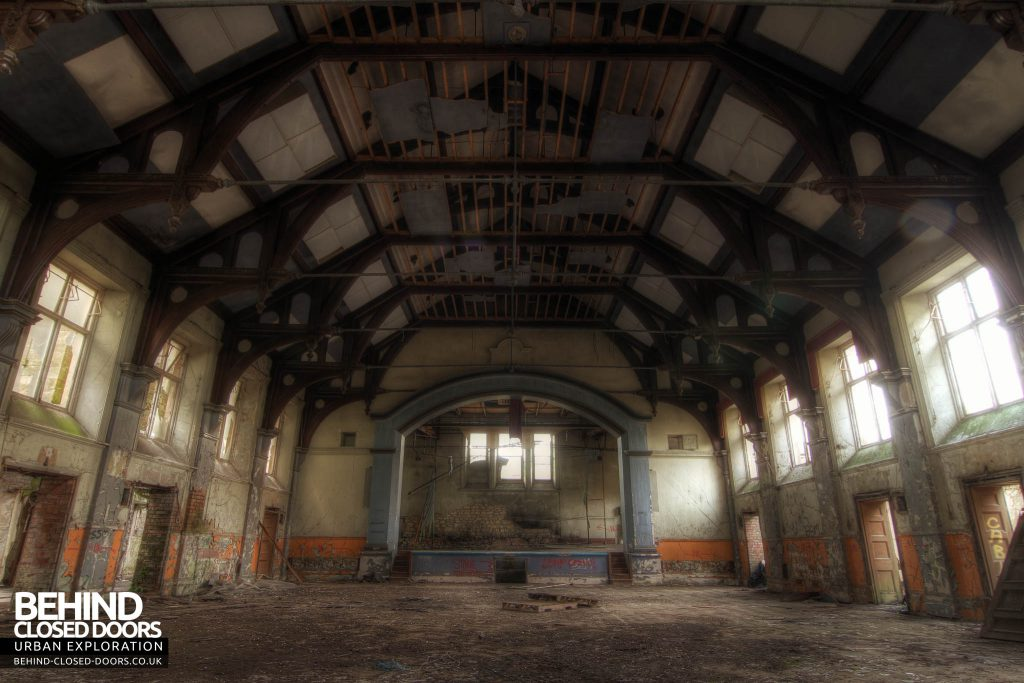 St John's Asylum - Main Hall
