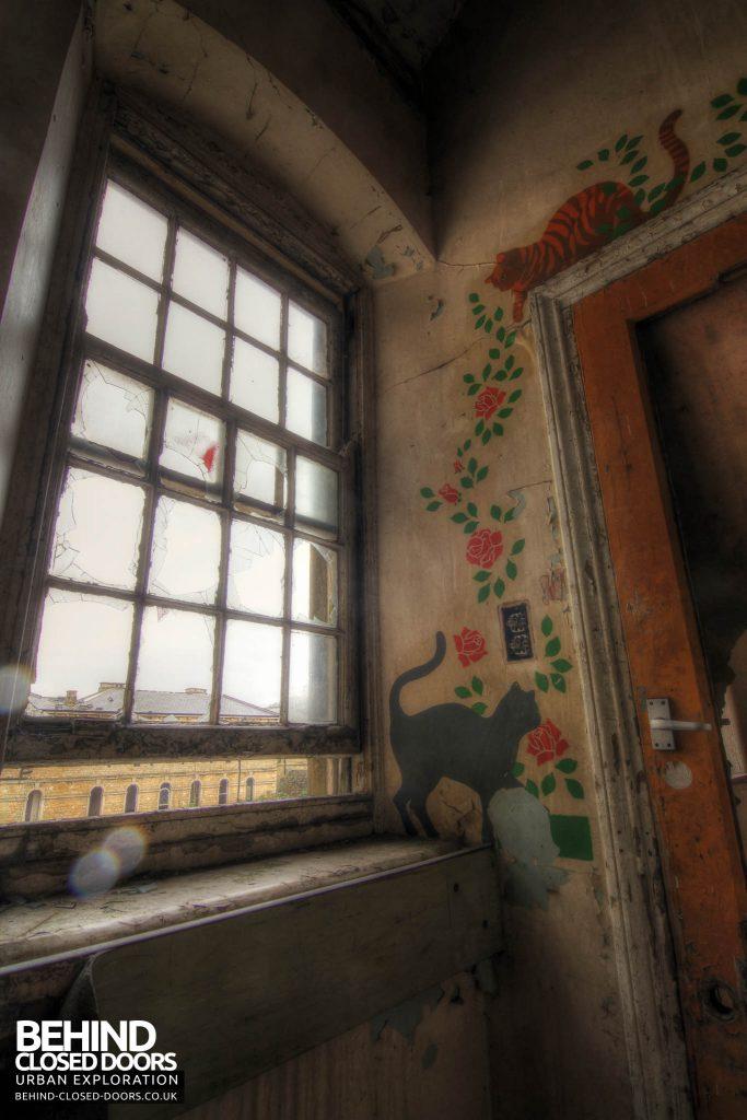 St John's Asylum - Children's Ward Murials