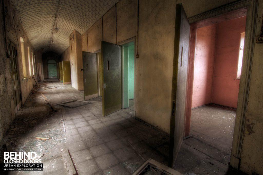 St John's Asylum - Cell Doors
