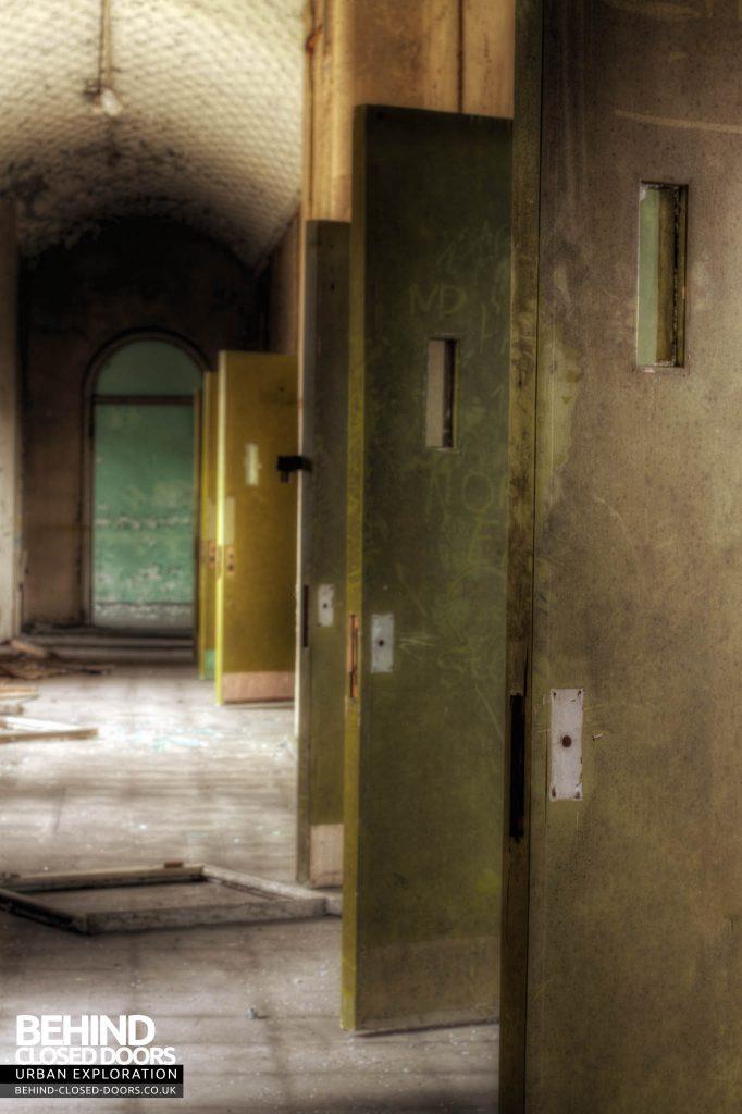 St John's Asylum - Doors