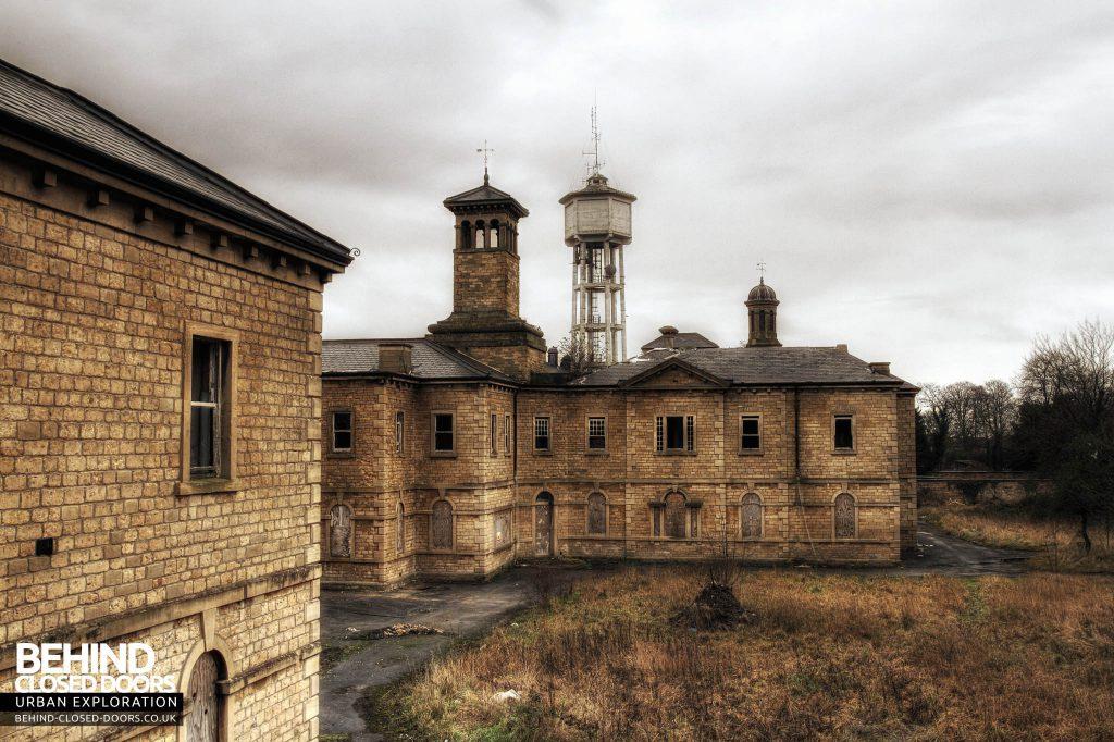 St John's Asylum - External Details