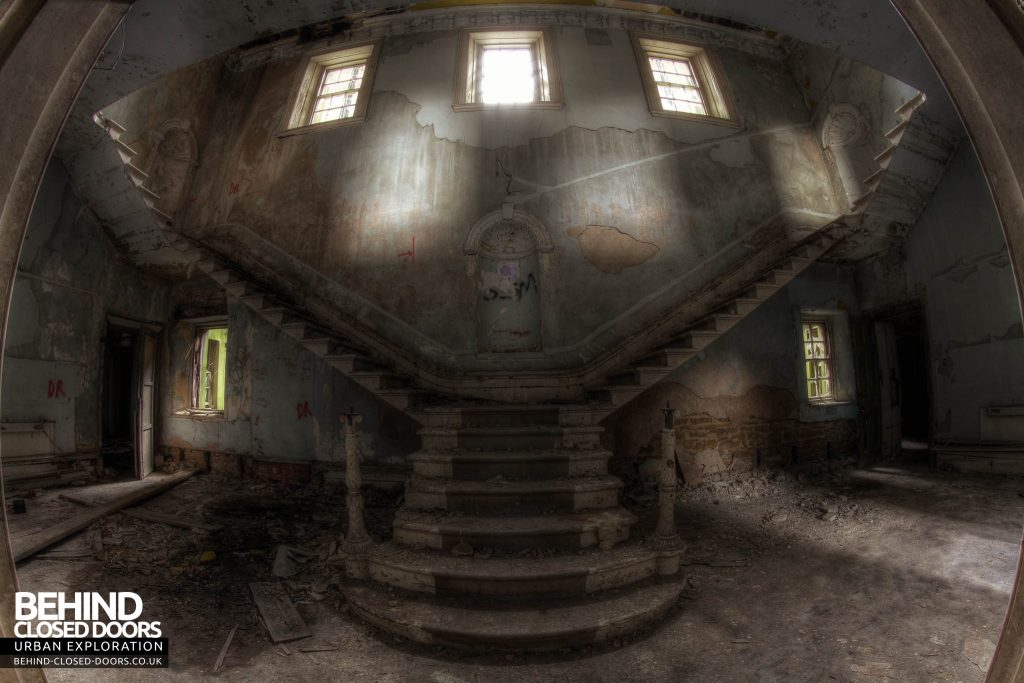 St John's Asylum - Staircase