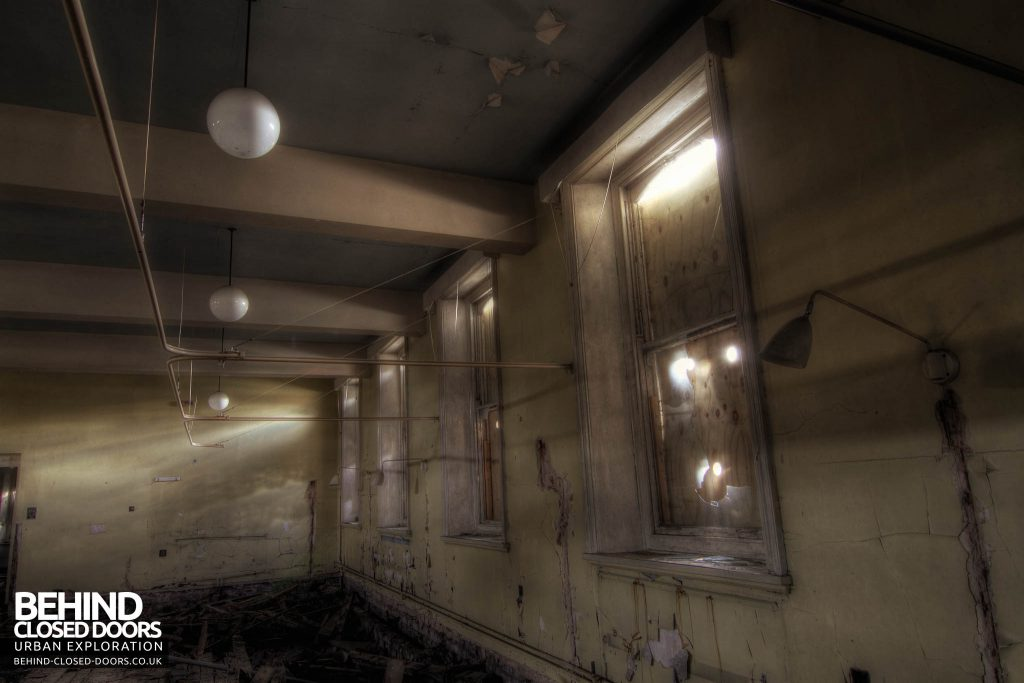 St John's Asylum - Lights in a Ward