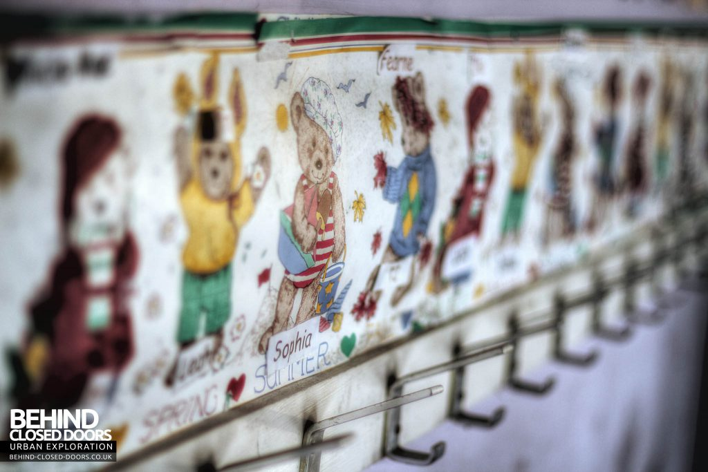 St John's Nursery - Coat Hooks