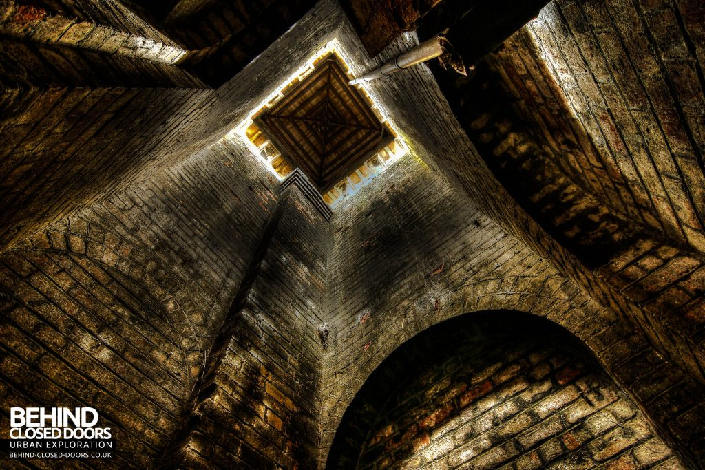 St John's Asylum - View up the Tower